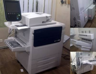 НОВЫЙ xerox Color C75 Press
