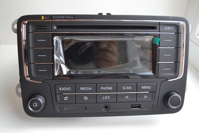 Магнитола RCD320 CD MP3 USB SD AUX Bluetooth для Volkswagen, Skoda