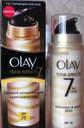 Крем-сыворотка для лица Olay total effects 7 in 1. Херсон